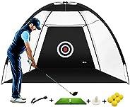 MIKODA Golf Practice Net Golf nets for Backyard Driving Golf Cutting Net Golf Net for Indoor Driving Range Swi