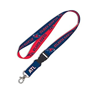 NBA Atlanta Hawks Lanyard with Detachable Buckle, 1""
