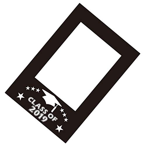 (Fityle Graduation Photo Props Picture Frame Photo Booth Props Graduation Decoration Accessory for Graduation Party Wedding Party 68 x)