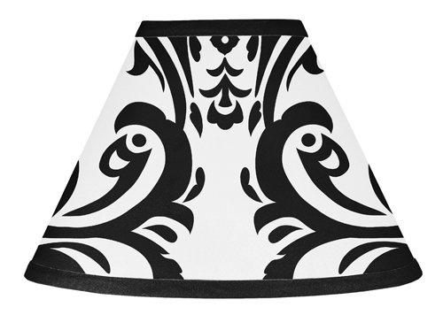 Sweet Jojo Designs Black and White Isabella Lamp Shade ()