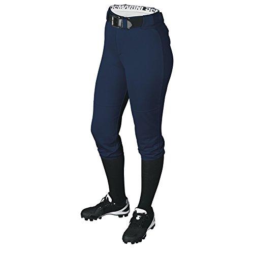 Girl's Demarini Girls Belted Pant, Navy, - Warehouse Softball