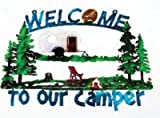 Fleming Sales 76677 Welcome To Our Camper Art