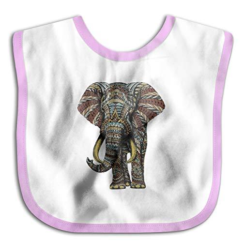 XHX Baby Ornate Elephant Saliva Towel Bibs