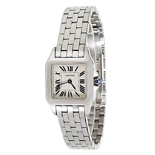 Cartier Santos Demoiselle W25064Z5 Ladies Watch in Stainless Steel (Certified Pre-owned)