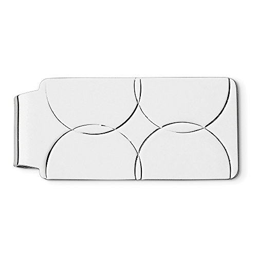 Sterling Sterling Silver Engravable Money Money Clip Clip Engravable Silver ww7ICRq
