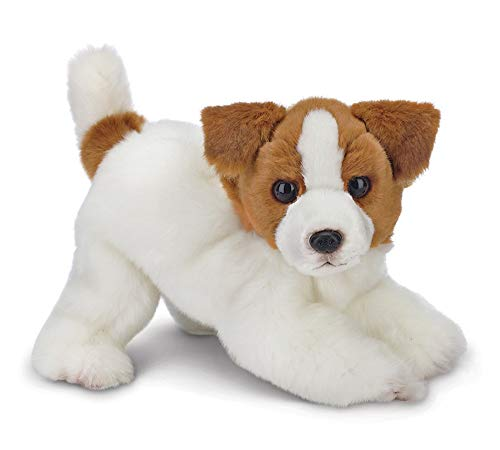 (Bearington Jack Russell Terrier Plush Stuffed Animal Puppy Dog, 13 inches)
