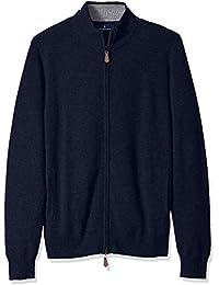 Men's 100% Premium Cashmere Full-Zip Sweater