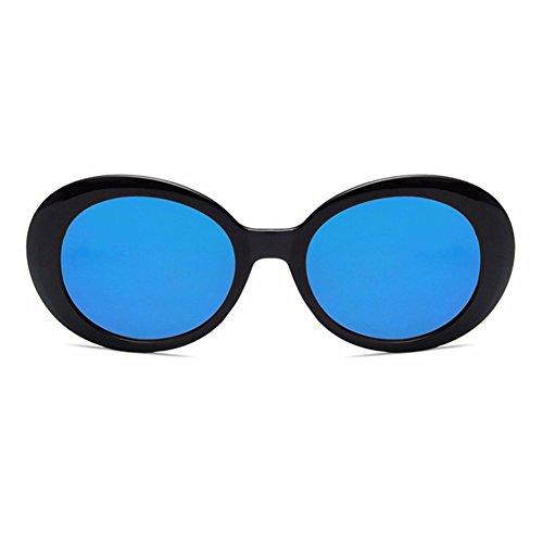de Noir bleu Eté Accessoir Femme Lunettes de pour Casual Monture iShine Soleil Ovale Lunettes Intégrale Mode à EaTw6q1WZA