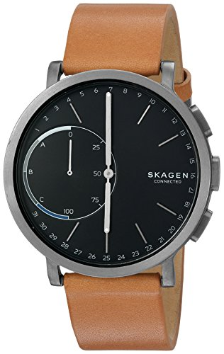 Skagen Connected Titanium Leather Smartwatch product image