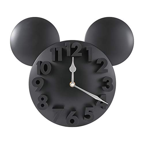 MEIDI CLOCK Modern Design Mickey Mouse Big Digit 3D Wall Clock Home Decor Decoration