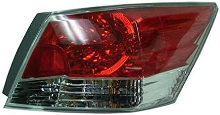 Taillight Taillamp Passenger Side Right RH for 08-10 Honda Accord 2 Door Coupe