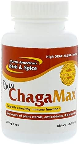 North American Herb and Spice, ChagaMax, 90 Capsules Packaging May Vary