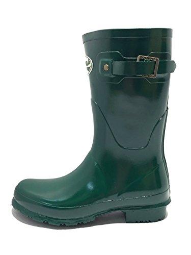 Rockfish Ladies Womens Short Gloss Matt Handmade Wellington Boots Fully Waterproof Outdoor Equestrian Country Horse Riding Festival Calf Short Durable Wellies Size 3 4 5 6 7 8 Racing Green Ft6cEHSZ6N
