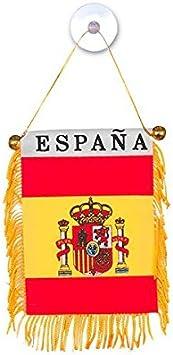 Eurowebb banderín en los colores de España con ventosa – Decoración Coche, Cámara casa: Amazon.es: Electrónica