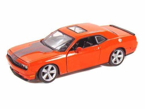 2008 Dodge Challenger SRT8 1 24 6.1 Hemi orange by Collectable Diecast