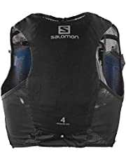 SALOMON ADV Hydra Vest Chaleco de hidratación 8L, 2 Botellas SoftFlask 500 ml Incluidas, Unisex Adulto