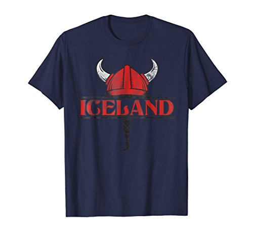 2018 Iceland World Soccer Championship Vintage Fan T Shirt ()
