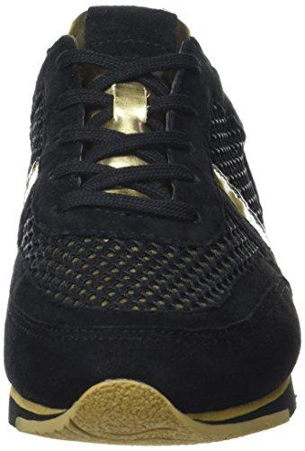 Gabor Shoes Sport 54.323 - Zapatillas para mujer Multicolor (schwarz/oro 62)