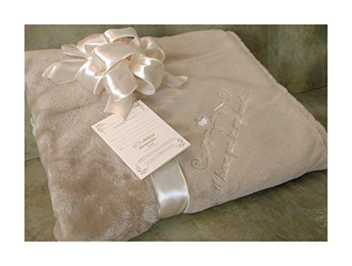 Sympathy Gift Blanket to Send for Funeral Or Memorial When Someone Loses A Loved One I Have You in My Heart Embroidered Plush Throw