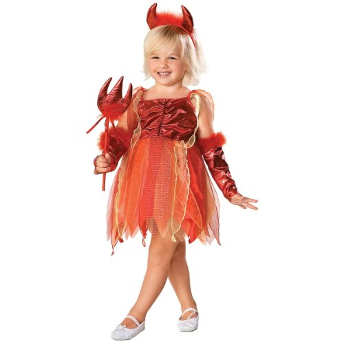 Devilicious Costume - Toddler (Devil Costume Ideas For Girls)