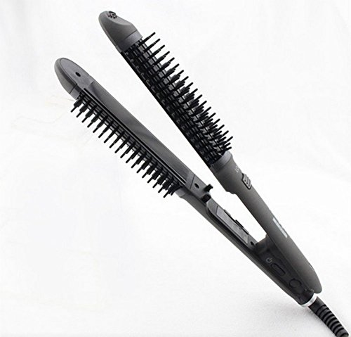 - MM Professional Hair Brush And Hair Straightener, Hair Straightener Splint Straight Dual-Use Does Not Hurt Hair Anti-Scalding Electric Curling Comb Hair Curler Inside Buckle Hair Artifact