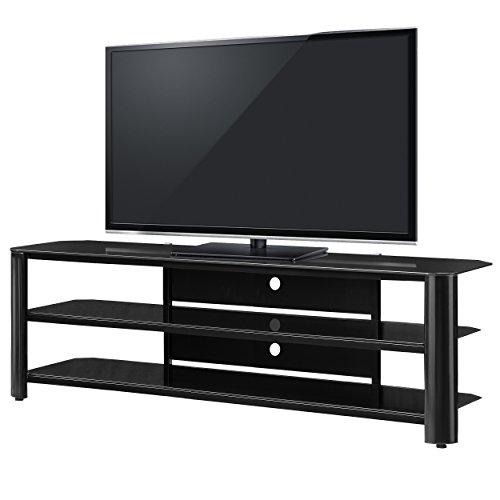 Innovex Fold 'N' Snap Oxford 65'' TV Stand, Black by Innovex