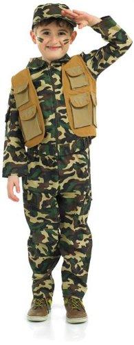 Small Boys Desert Army Costume -