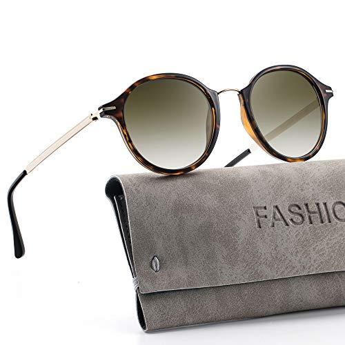 Avoalre Retro Round Sunglasses for Women - ClassicVintage Designer Style