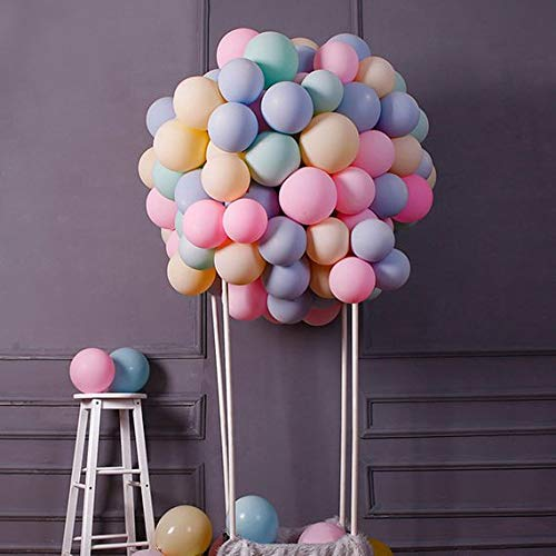 BIG 100 Pastel Balloons in Assortment of Popular Colors. All Favorite 10