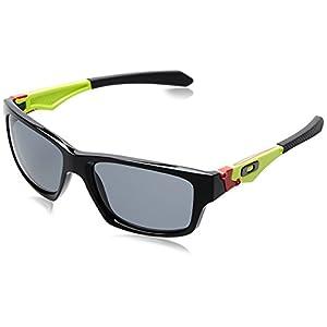 Oakley Troy Lee Signature Jupiter Squared Sunglasses - Polished Black/Gray