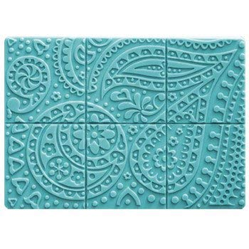Milky Way Paisley Soap Mold Tray - Melt and Pour - Cold Process - Clear PVC - Not Silicone - MW 126