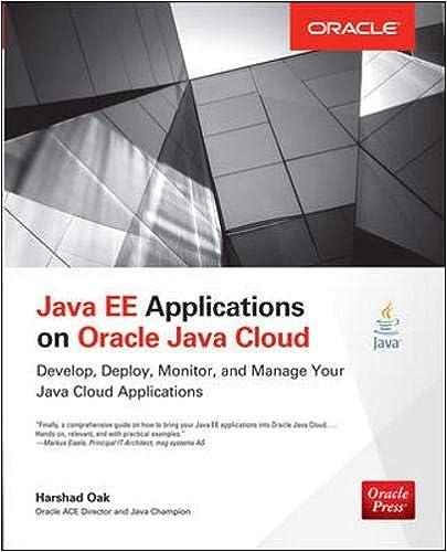 Amazon com: Java EE Applications on Oracle Java Cloud