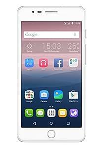 "Alcatel One Touch Pop UP - Smartphone de 5"" (4G, Octa-Core 1.4 GHz, 2 GB de RAM, Memoria Interna de 16 GB, cámara de 13 MP, Android), Color Blanco"