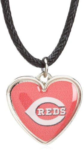 Cincinnati Reds Mlb Crystal (MLB Cincinnati Reds Crystal Heart Reversible)