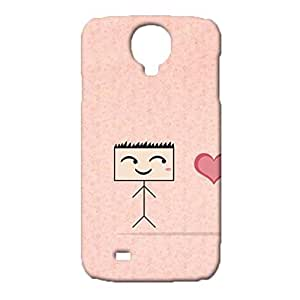 Samsung Galaxy S4 I9500 Couples Series Phone Case Cover,Fashion Cute Couples Series Pattern Customised Exquisite 3D Hard Shell Case for Samsung Galaxy S4 I9500
