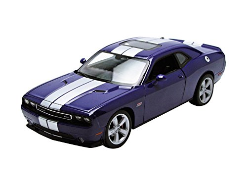 Welly 2013 Dodge Challenger SRT Hard Top 1/24 Scale Diecast Model Car Purple (Dodge Challenger Model compare prices)