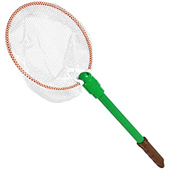 Nature Bound Bug & Butterfly Net with Nylon Netting and Floating Handle Toy
