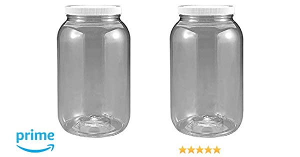 "100  4.5/"" WIDE MOUTH PLASTIC JAR LIDS WITH LINERS"