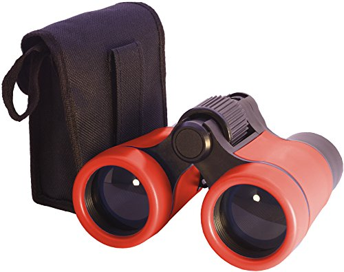 Toy Binoculars for Kids in Carrying Case | For 3 to 6 yr | Great Birthday Gift for Boys Girls Baby Toddlers Twins for Party Pretend Play Outdoors and Travel (Birthday Gift Ideas 2 Year Old Boy)