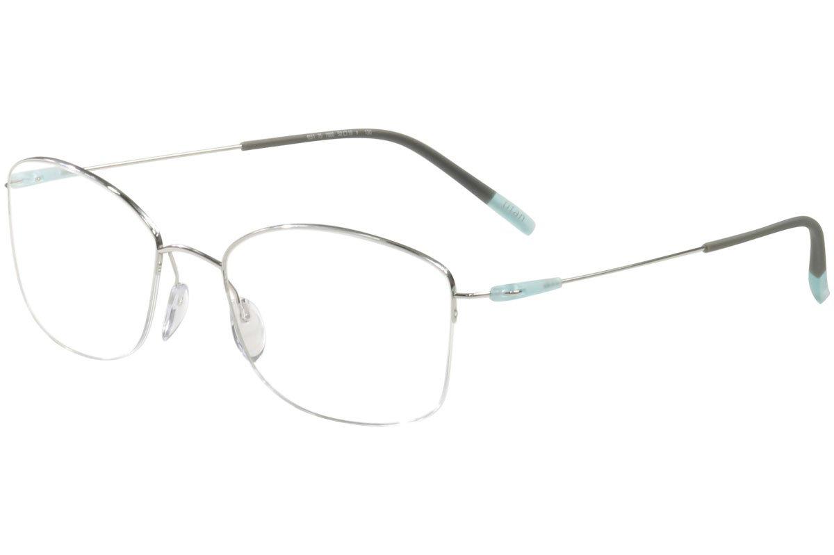 Eyeglasses Silhouette Dynamics Colorwave Nylor 4551 7000 silver 54//18//135 3 piec
