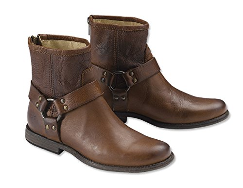 hillip Harness Boots / Frye Phillip Harness Boots, 6 1/2 (Bass Womens Sleek)