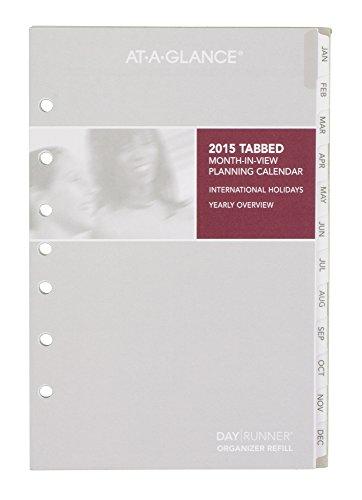 Calendar Planner Refill Pages : Day runner monthly planner calendar refill