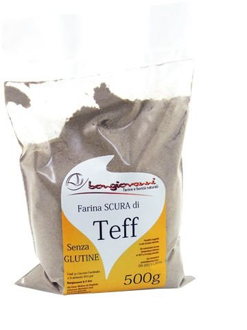 500 g de harina de gluten oscuro Teff: Amazon.es ...