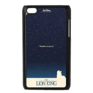 The Lion King Hakuna Matata Hard Snap Phone Case Cover for Ipod Touch 4 case TSL216872