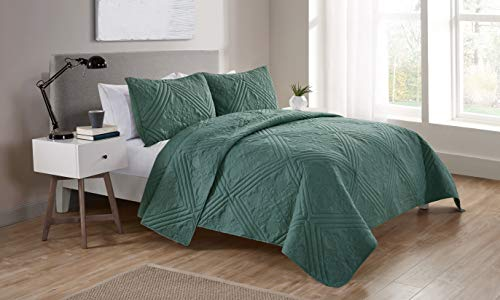 VCNY Home Chateau Quilt Set, Bedding, Full/Queen, - Chateau Quilt