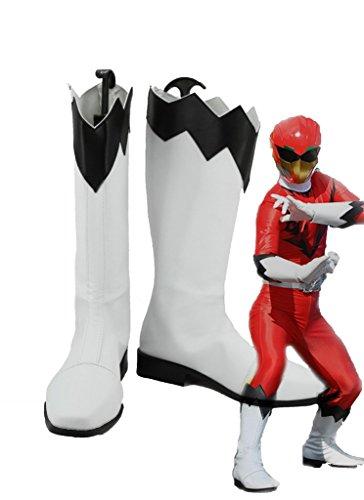 Power Rangers Doubutsu Sentai Zyuohger Yamato Kazakiri Cosplay Kängor Skräddarsydda