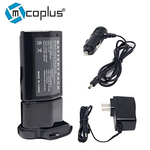 Mcoplus EN-EL18A EN-EL18 Battery + Charger for Nikon D850 D800 D800E D810 Camera,MB-D18 MB-D12 MBD12 Battery Grip.