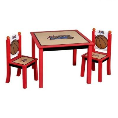 Guidecraft 76'ers Table & Chairs Set