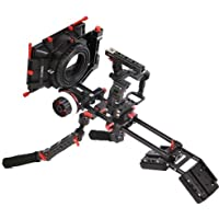 Came-TV Sony A7S Rig with Hand Grip Mattebox Follow Focus Kit