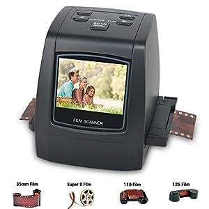 Escáner de negativos, película y diapositivas de 35mm DB